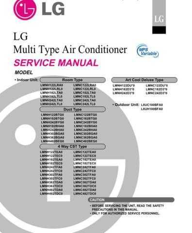 LG LMNH482TDC0 Manual by download Mauritron #305352