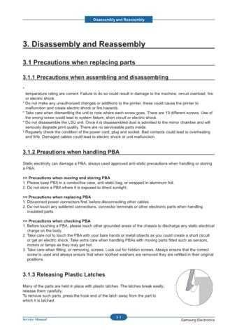 20080609103228640 03-DISASSEMBLY 3 Manual by download Mauritron #302912