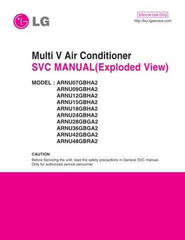 LG MFL42947606_ARNU18GBHA2.ANWALAT Manual by download Mauritron #305779