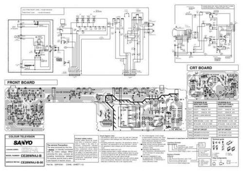 Sanyo. CE28WN4J-B-00 SM (2) Manual by download Mauritron #312615
