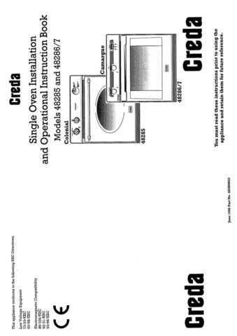 Creda 48293 Operating Guide by download Mauritron #312743