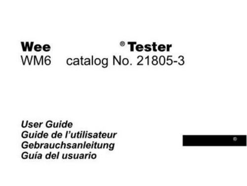 Megger 21-895Ja Operating Guide by download Mauritron #310006