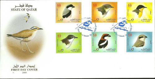 Qatar 2009 FDC Birds