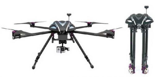 Walkera GPS QR X800 Carbon Fiber DRONE RTF1 & DEVO10 & ALUMINUM CASE NEW ARRIVAL