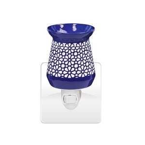 Blue and White Plug In Tart Warmer