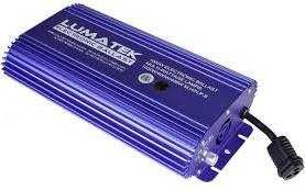 LUMATEK 1000W/600W/400W HPS/MH Digital Dimmable Air-Cooled Ballast