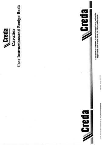 Creda 49425 Operating Guide by download Mauritron #312794