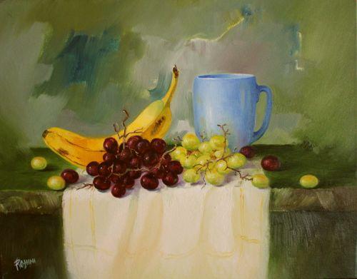 Still Life - Original Oil on Canvas