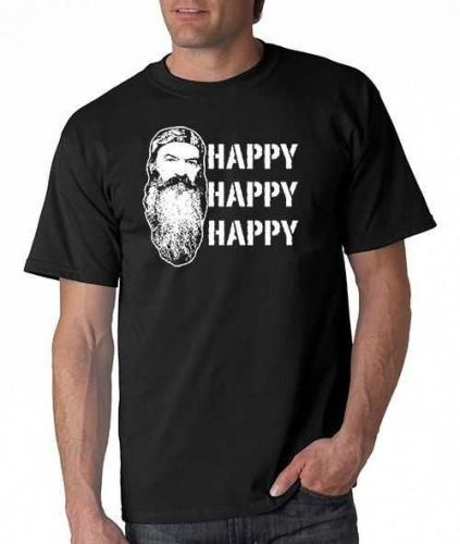 HAPPY HAPPY HAPPY DUCK DYNASTY Show Commander Call Hunting High Quality T Shirt D59++