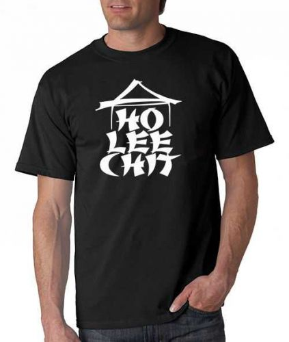 HO LEE CHIT Adult Holy Funny Asian Buffet ninja gag gift Mens T-Shirt D59++