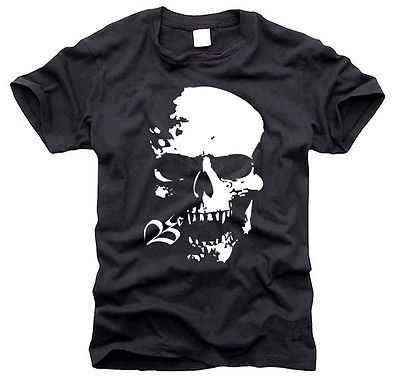 Totenkopf - SKULL - DEAD HEAD - Skelett - T-Shirt, Gr. S bis59++