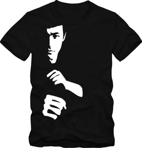 T-Shirt Bruce Lee T-Shirt Fan Shirt Retro Shirt D59++