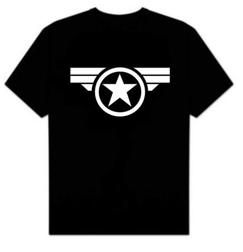 Captain America Super Soldier T-shirt D59
