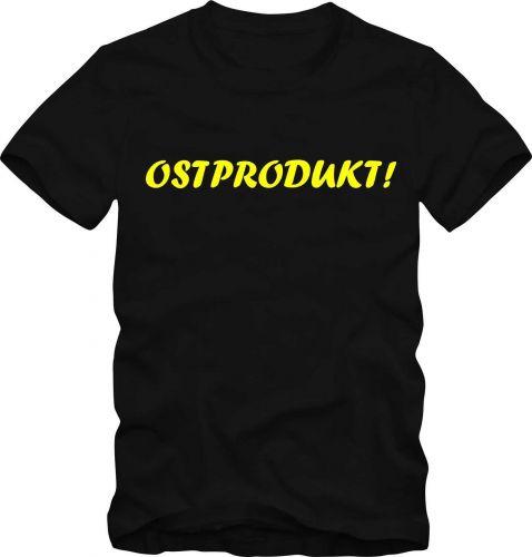 DDR T-Shirt Ostalgie Fun Shirt DDR OSTPRODUKT D59