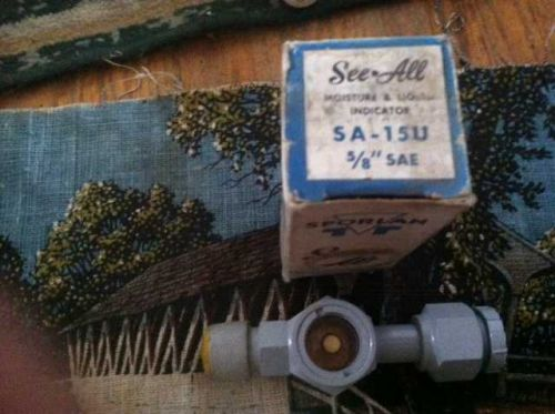 Sporlan See All SA-15U Moisture & Liquid Indicator