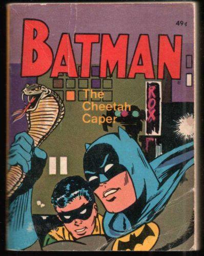 "BATMAN ""THE CHEETAH CAPER"" BIG LITTLE BOOK 1969 VG CONDITION"