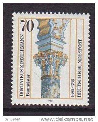 Germany 1442 mnh Dominkkus Zimmermann Architect