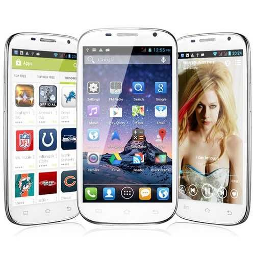 SWEES 5.0 Inch 3G Dual Core MT6577 Android 4 Unlocked Cell Phone 512MB+4GB