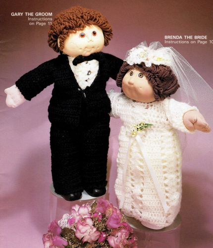 Bride & Groom Outfits Crochet PDF Pattern Digital Delivery