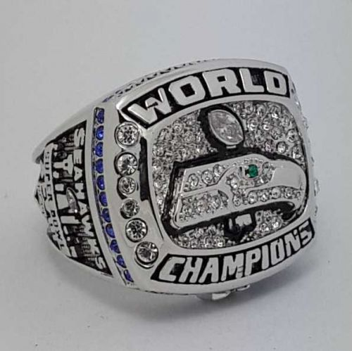 2013 Seattle Seahawks XLVIII super bowl championship ring size 9-12 US