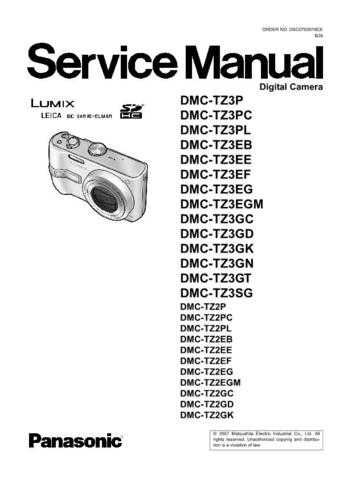 Sharp DMC-TZ3EB Manual by download Mauritron #298357