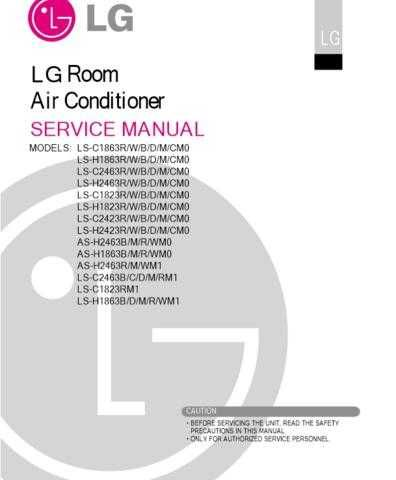 LG AS-H1863WMO Manual by download Mauritron #304594