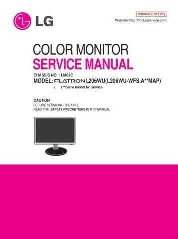 LG MFL36713676(L206WU-WFS_E) Manual by download Mauritron #305653