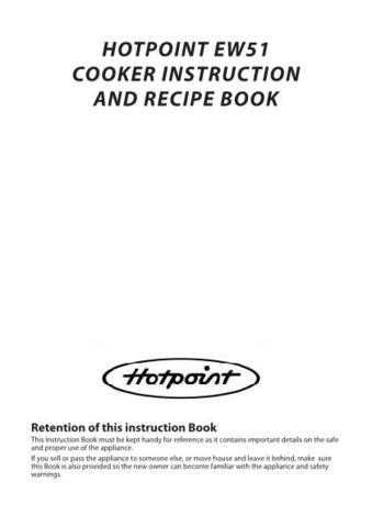 Hotpoint HBEW51S Operating Guide by download Mauritron #312106