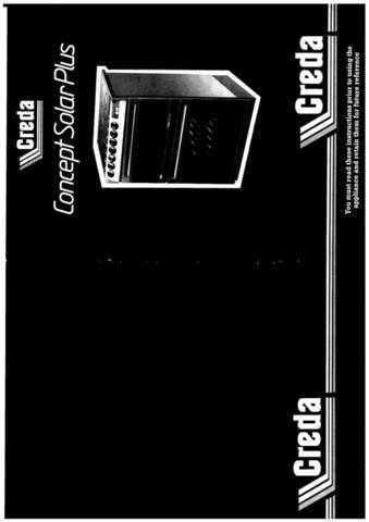 Creda 48339 Operating Guide by download Mauritron #312750