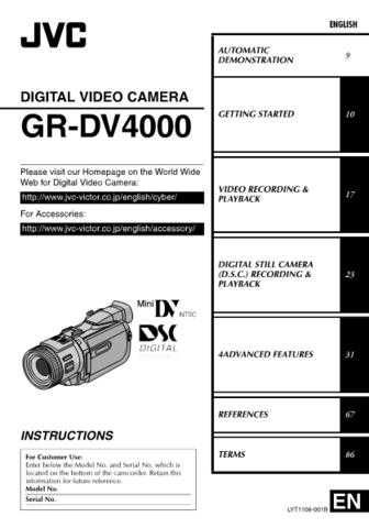 JVC LYT1108-001B Operating Guide by download Mauritron #295099