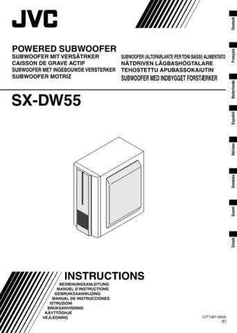 JVC SX-DW55-9 Service Manual by download Mauritron #276716