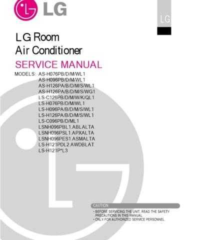 LG AS-H076PB Manual by download Mauritron #304578