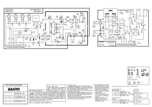 Sanyo. CE28WN4J-B-01 SM (2) Manual by download Mauritron #312619