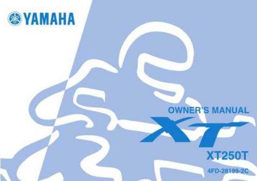 Yamaha 4FD-28199-2C Motorcycle Manual by download #334269