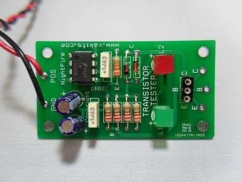 Built & Tested - Transistor Tester Kit (#1964)