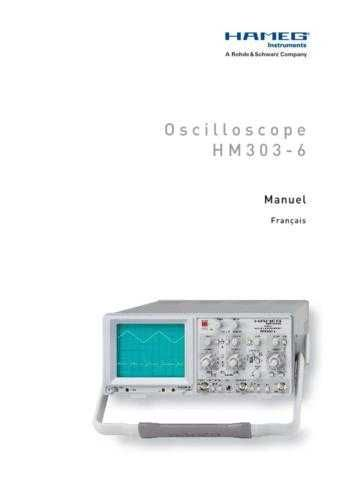 Hameg HM205_3_ Operating Guide in French by download Mauritron #309845