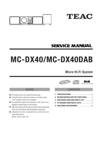 Teac MCD95 Service Manual by download Mauritron #319433