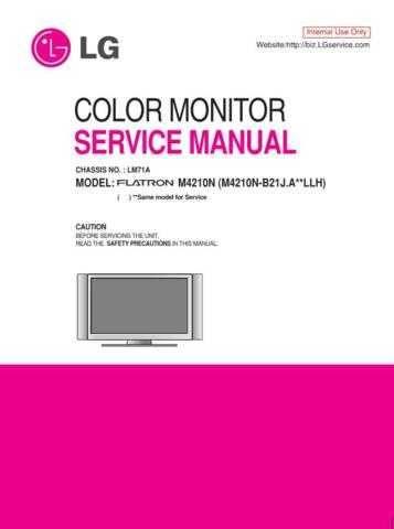 LG MFL38456773(M4210N-B21J_E) Manual by download Mauritron #305702