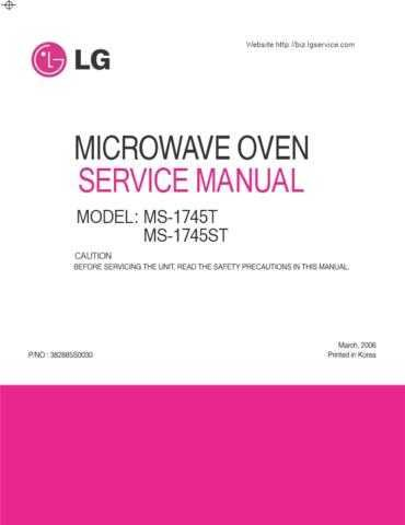 LG 382885S0030 CDC-2182 Manual by download Mauritron #303701