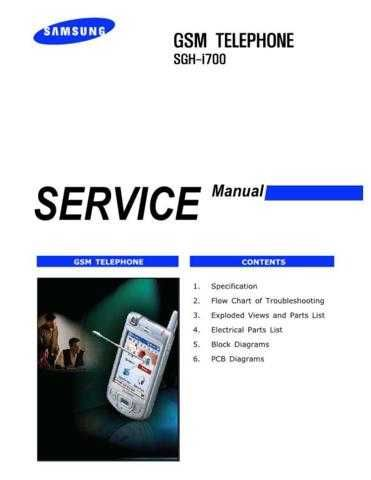 Samsung SGH-i700 Mobile Phone Service Manual by download Mauritron #306373