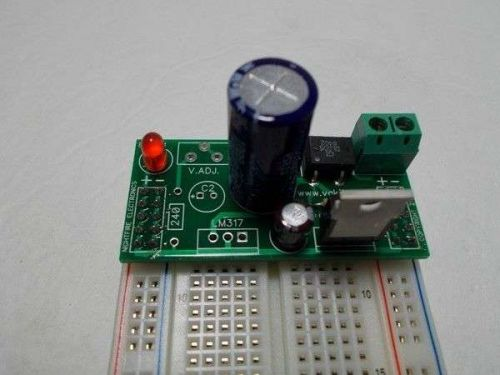 Pre-Built Solderless Breadboard +6v Power Supply Kit
