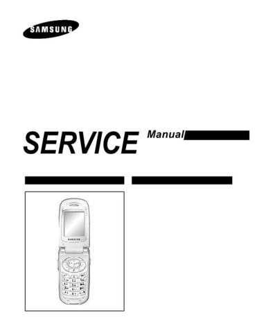 Samsung SGH-T208 Mobile Phone Service Manual by download Mauritron #306433