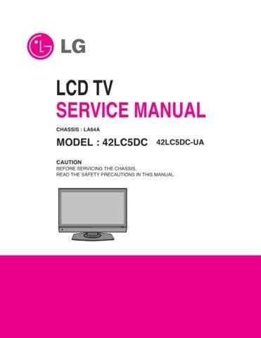 LG MFL36550703_42LC5DC-UA_AUSYLJR_(M)_2 Manual by download Mauritron #305630
