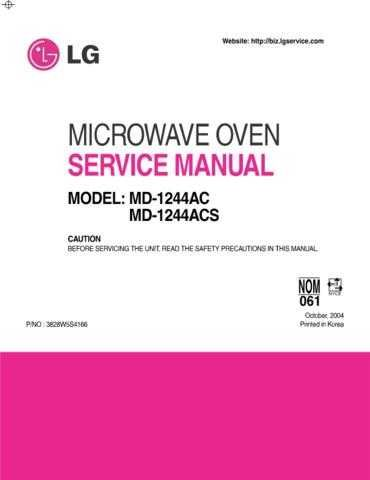 LG 3828W5S4166_2 Manual by download Mauritron #304294