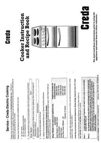 Creda 49130 Operating Guide by download Mauritron #312779