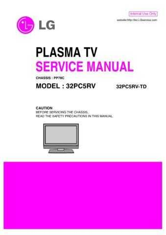 LG 32PC5RV-TD[2] Manual by download Mauritron #303690