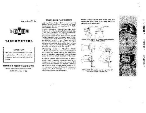 Megger 31-Ja Operating Guide by download Mauritron #310063