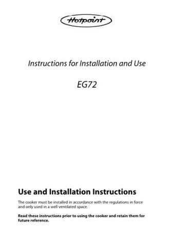 Hotpoint HBEG72 Operating Guide by download Mauritron #312093