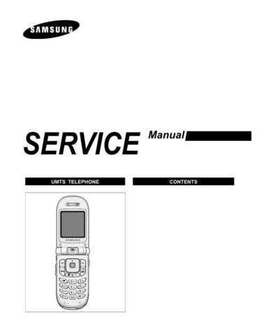 Samsung SGH-Z107 Mobile Phone Service Manual by download Mauritron #306483