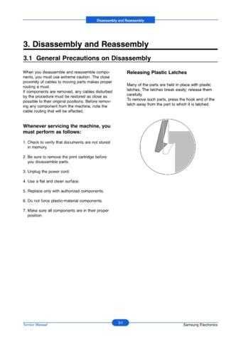 20080620132331781 03-DISASSEMBLY Manual by download Mauritron #302980